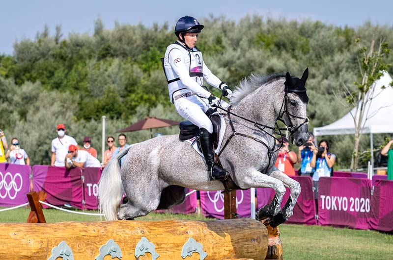 Oliver Townend and Ballaghmor Class have taken the lead after the cross-country at Tokyo 2020.