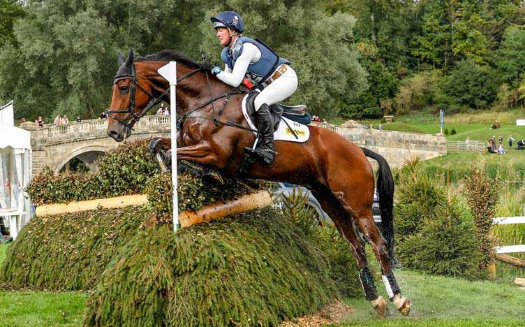 Nicola Wilson and Coolparks Sarco took out the CCI4*S for eight and nine-year-old horses at Blenheim.