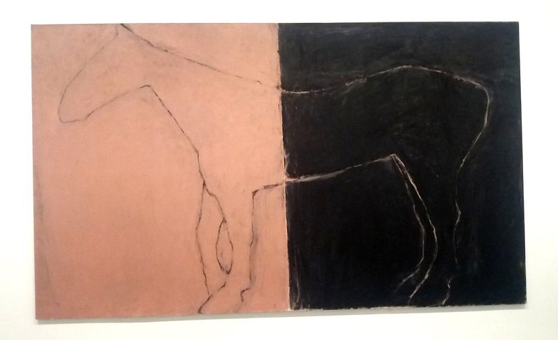 Susan Rothenberg's profile horse paintings will be on show at twoi Gray galleries in the US.