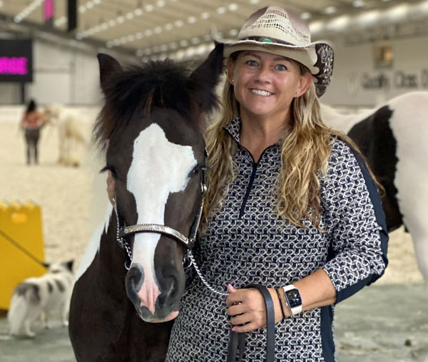 """Eros and Robin Hogan: Having a sick foal was """"a steep learning curve."""""""