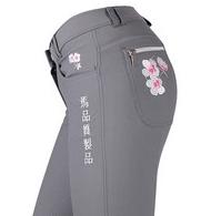 QHP Jaz rijbroek met Japanse print