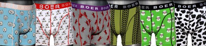 Boer Boer boxer ondergoed met paarden en andere modellen