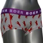 Boer Boer hipster boxershort boxer ondergoed met paarden