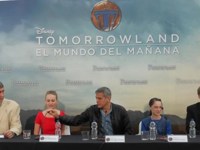 tomorrowland.George Clooney. Ciudad de las Artes y Ciencias