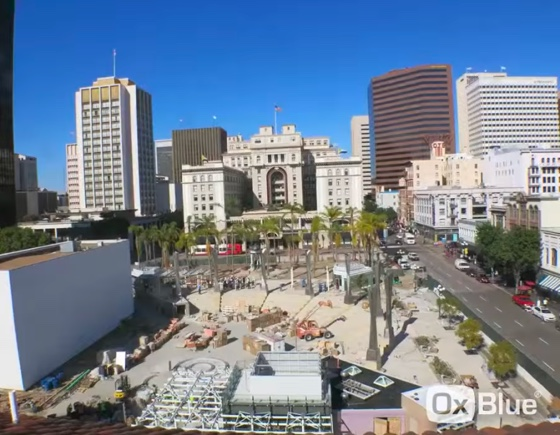 Timelapse video of Horton Plaza Park