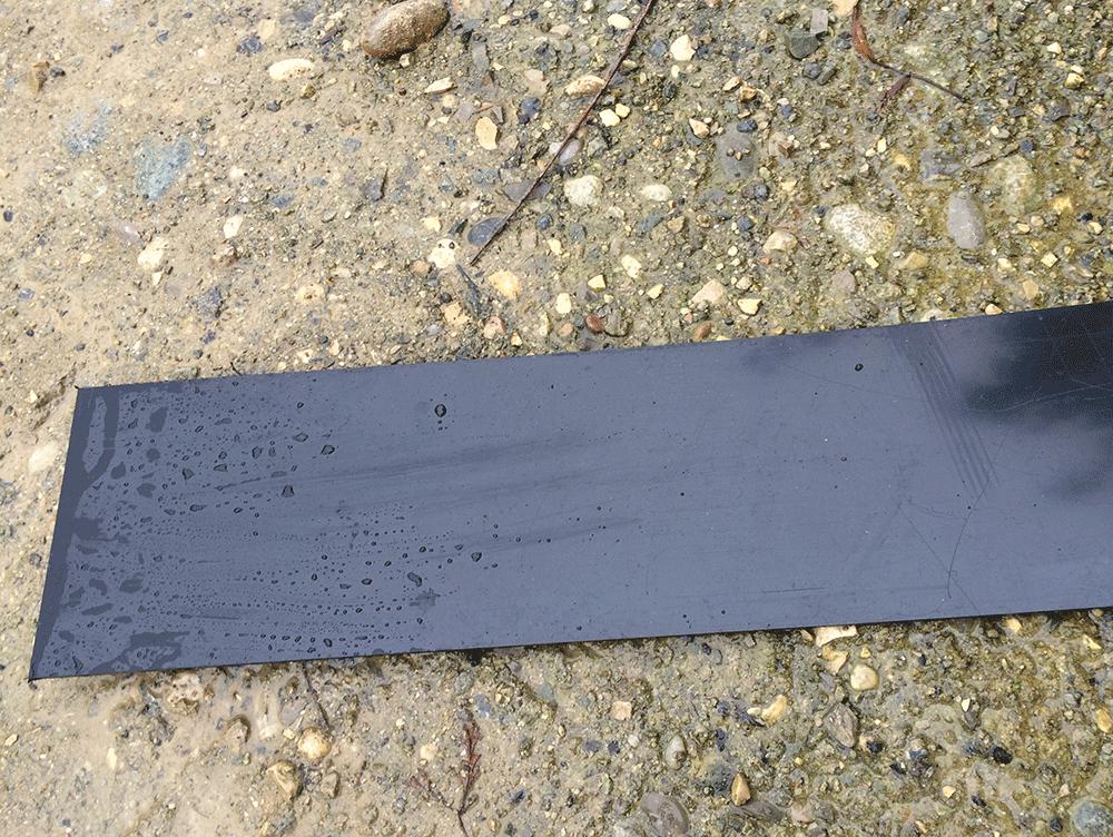 Bordure Plastique Noir