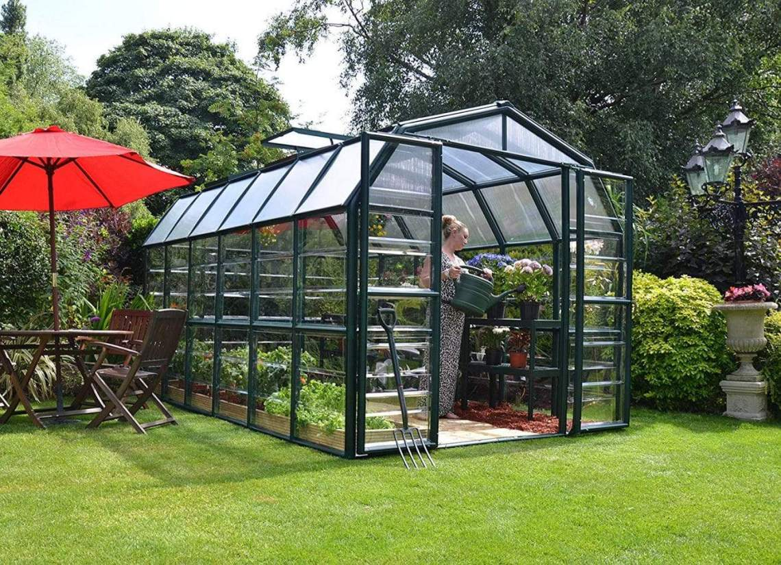Hobby Gardening - The Best Hobby Greenhouse for Windy Area