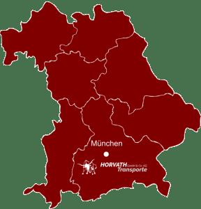 Abbildung der Karte von Horvath-Transporte, Transportunternehmen