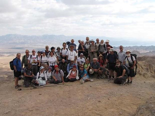 סיום שביל ישראל-הר שחורת
