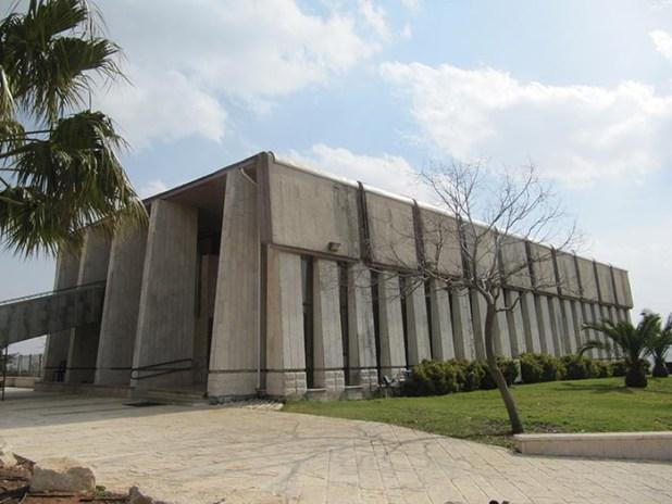 בית הכנסת בשילה במתכונת המשכן