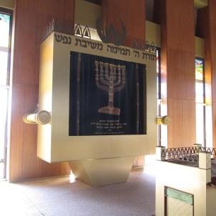 ארון הקודש כמו ארון הברית - בית כנסת שילה