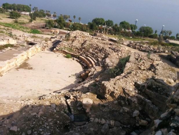 התיאטרון הרומי טבריה