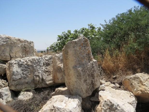 אבן מיל רומית בנוה דניאל