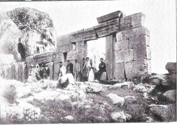 בית הכנסת העתיק במירון (לפני 1899)