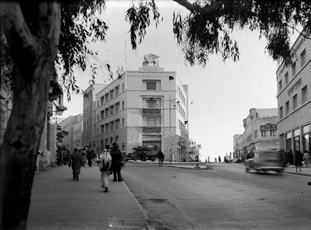 הבניין בתחילת שנות ה-40 של המאה ה-20