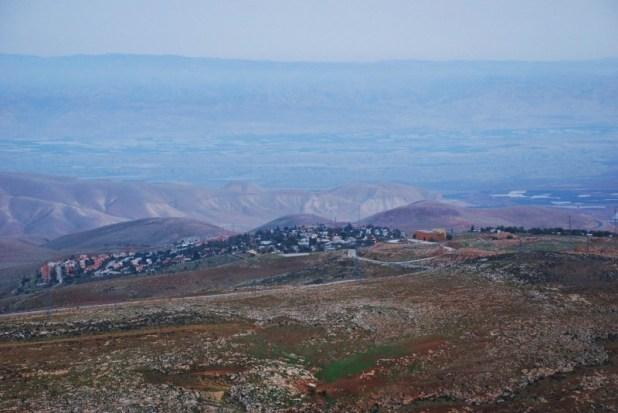 מעלה אפרים ממערב צילום:Stéphanie Gromann