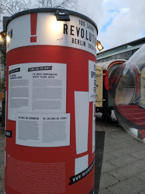 100 Years Revolution Berlin 1918/19