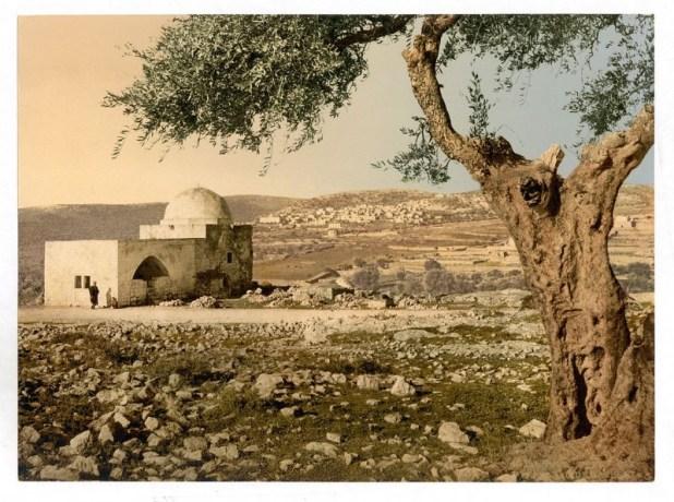 תצלום קבר רחל בשנים 1890-1900