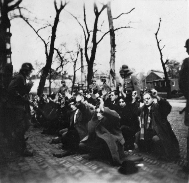 מעצר יהודים הולנדים בפברואר 1941 באמסטרדם