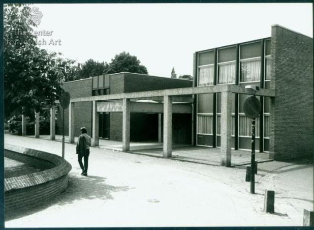 Post-WWII Synagogue in Hilversum, The Netherlands