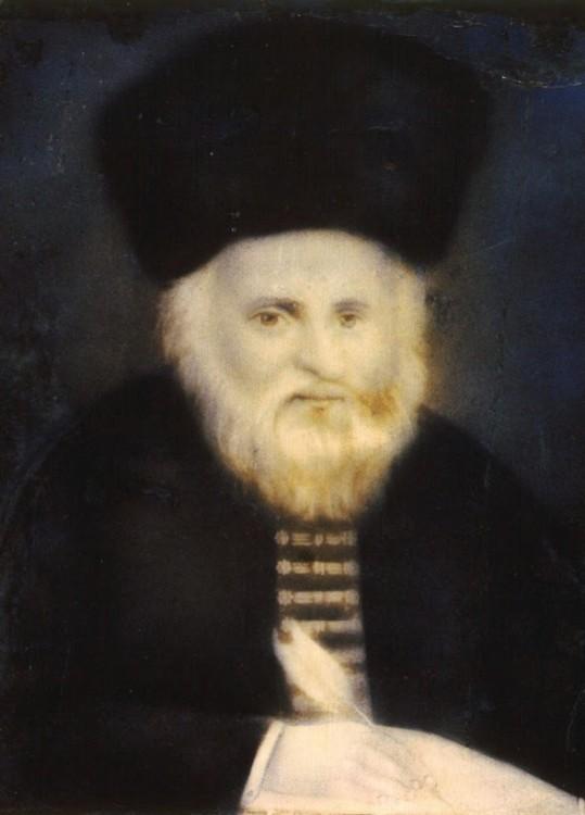 Vilna Gaon authentic portrait