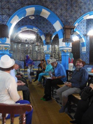 El Ghriba synagogue in Djerba