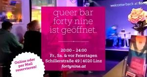 forty nine geöffnet 20:00 (Freitag) @ Queer Bar forty nine
