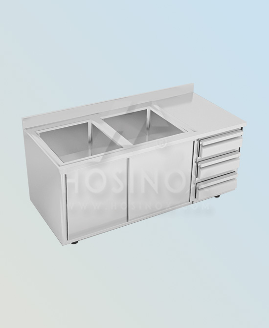 sink with base cabinet HOSINOX