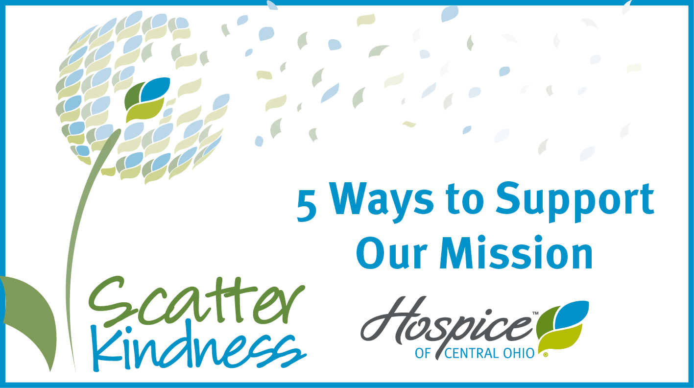 Here Are Ways You Can Support Our Mission