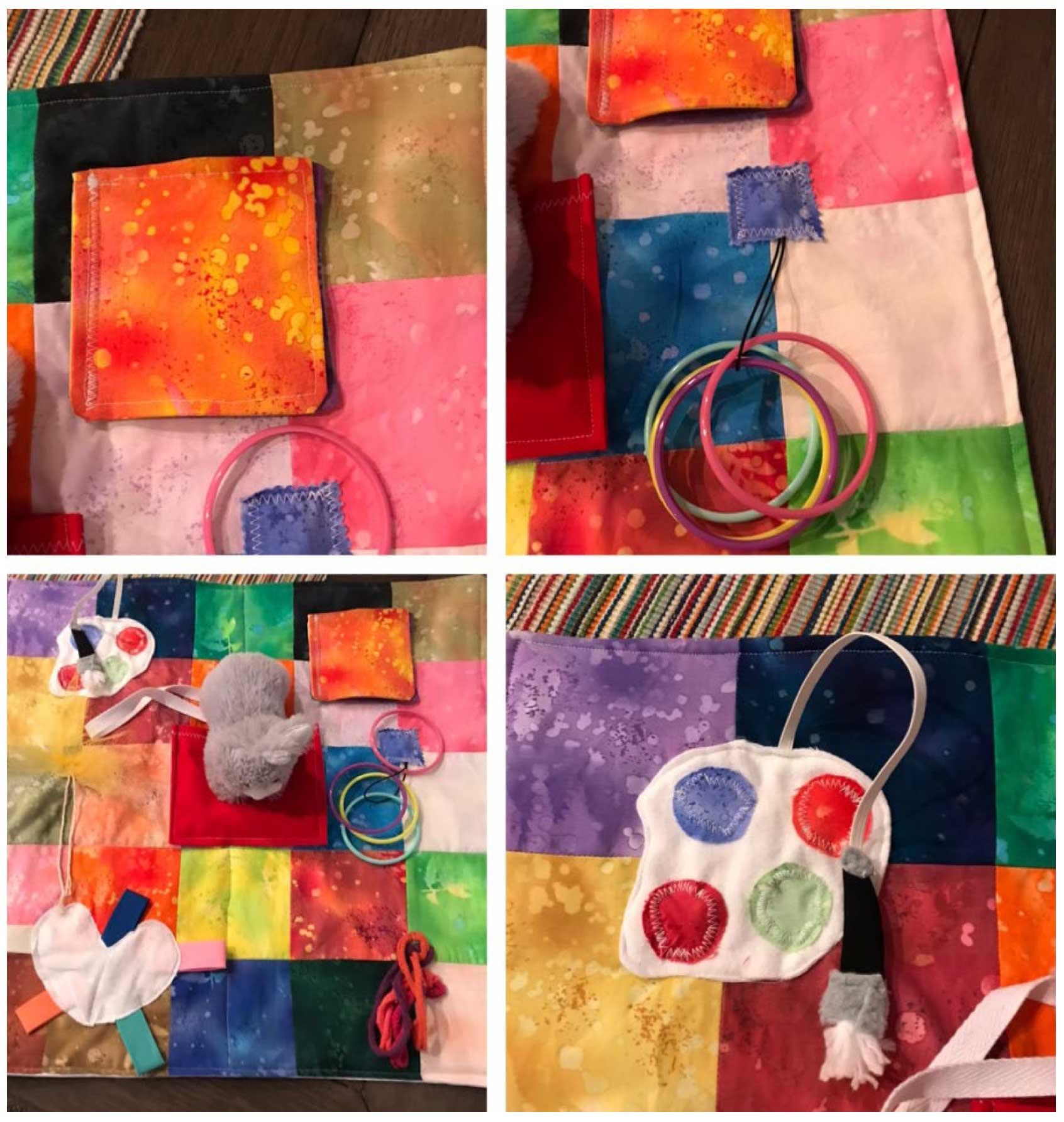 Handmade Items Busy Blankets