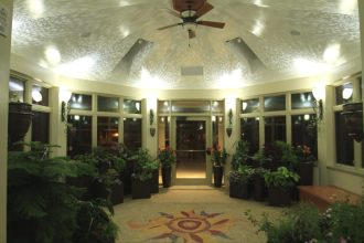 Beautiful Solarium at the Hospice House in Dayton!