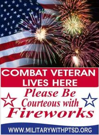 vets and fireworks