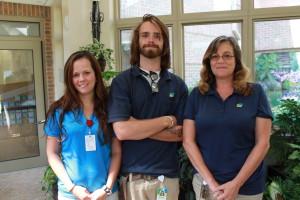 Landscape staff at Ohio's Hospice of Dayton