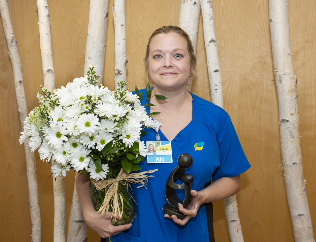 Sarah Slusher Newest Nurse To Receive Daisy Award Recognition