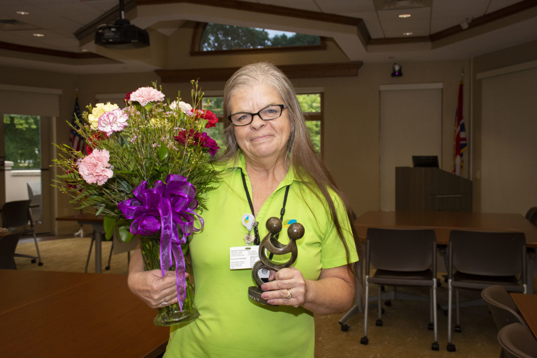Peggy Sue Combs Receives  Carnation Award Recognition
