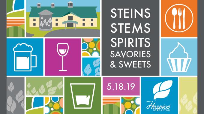 Steins, Stems, Spirits, Savories & Sweets Event