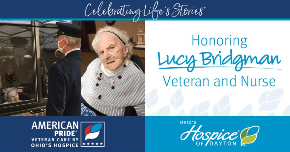 Celebrating Lives Stories - Honoring Lucy Bridgman, Veteran and Nurse