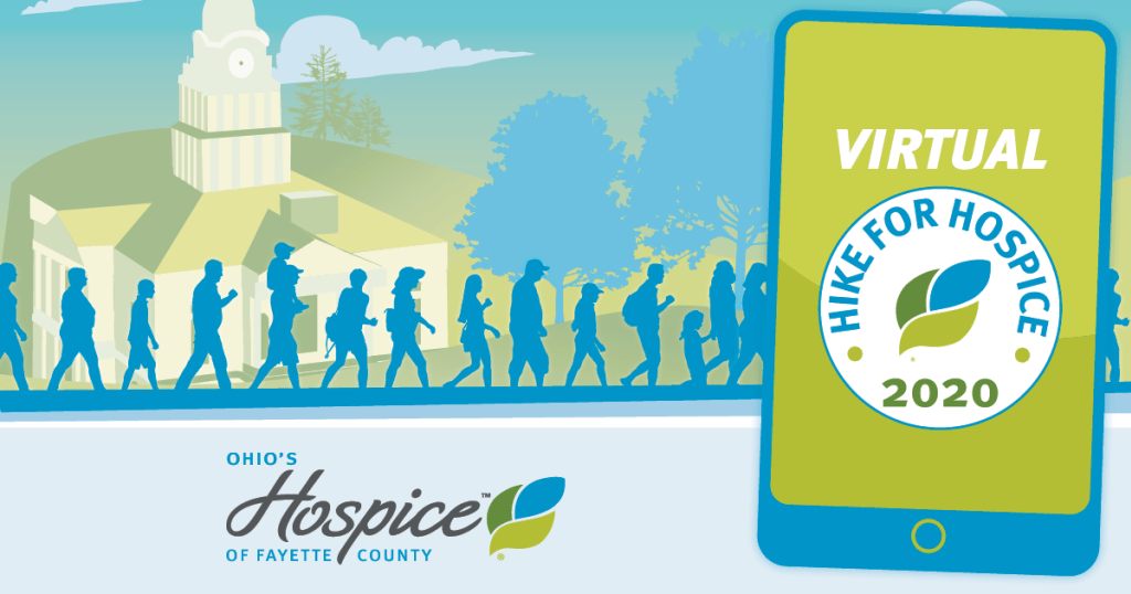 Ohio's Hospice Of Fayette County Holds Virtual Hike For Hospice Event