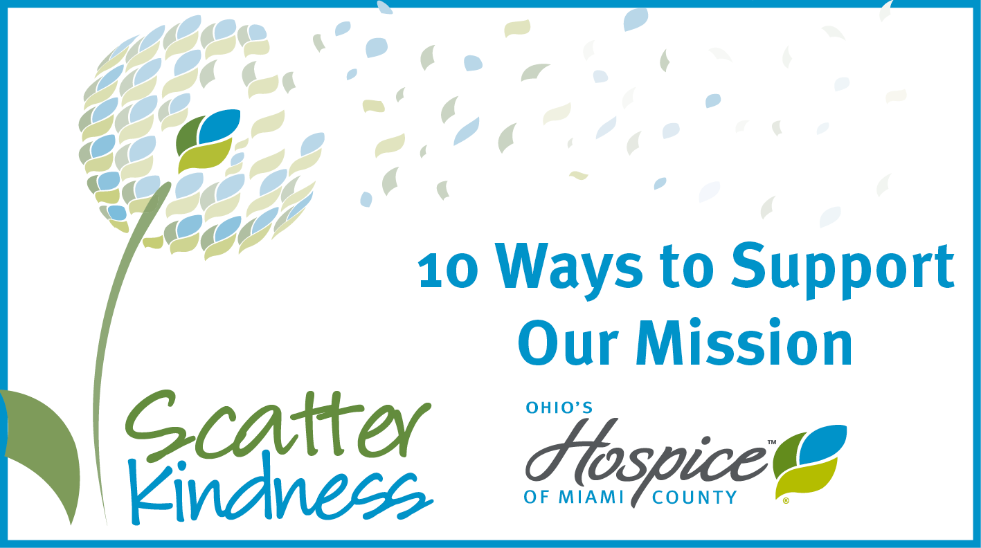 Ten Easy Ways To Support Our Mission