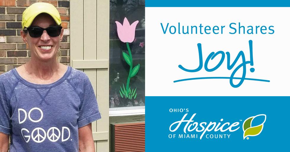 Volunteer Spreads Cheer With Chalk Drawings And Window Paintings