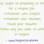 Four steps to take now to prepare for a hospice social work job