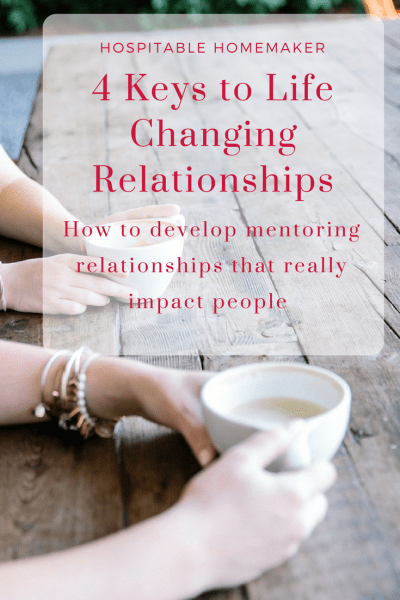 4 Keys to Discipleship: How to Build a Mentor Relationship that Make an Impact