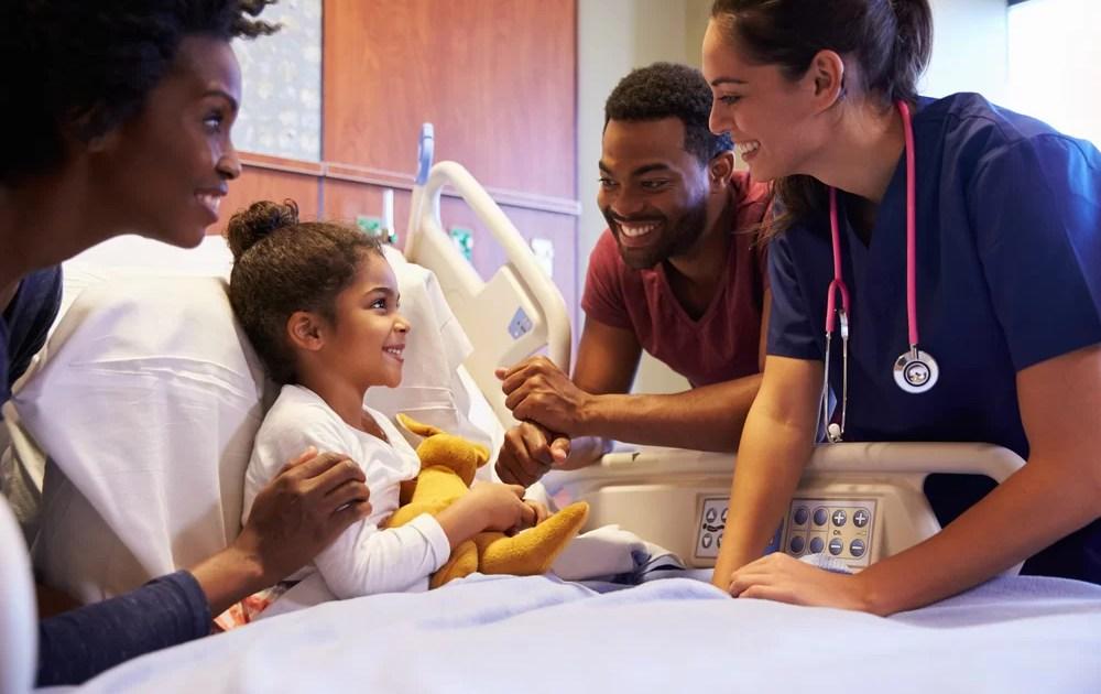 Não leve seu filho saudável ao Hospital