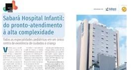 Sabará Hospital Infantil: do pronto-atendimento à alta complexidade