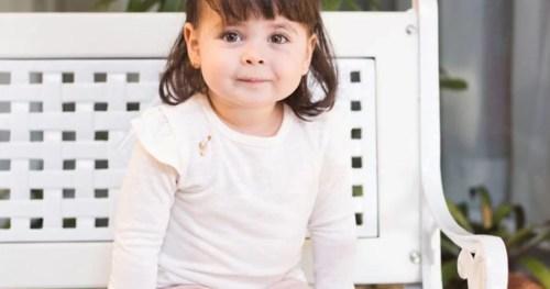 Conheça a história da pequena Lívia que sobreviveu a uma grave pneumonia