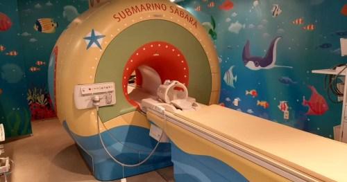 Sabará Hospital Infantil leva as crianças para um passeio ao fundo do mar na nova sala de Ressonância Magnética