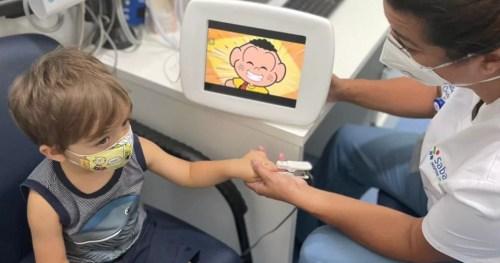 Sabará Hospital Infantil torna a triagem mais lúdica para os pacientes