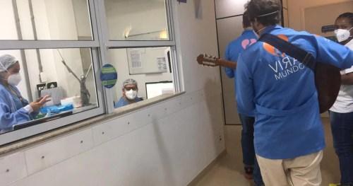 Sabará realiza ação de humanização em homenagem ao profissional da Saúde e Enfermeiros