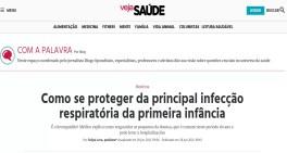 Gerente médico e pediatra do Sabará, Dr. Felipe Lora, publica artigo na VEJA! sobre bronquiolite
