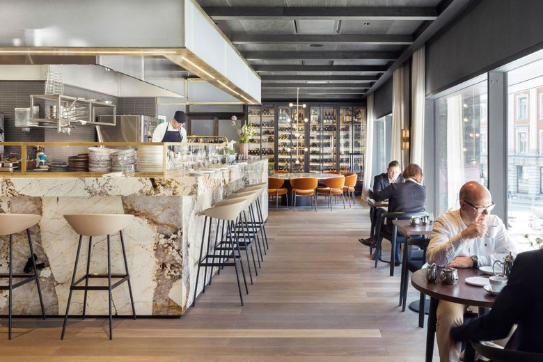 At Six Stockholm Transforms Historic Bank Into Luxury Hotel
